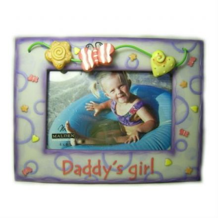 Daddy's Girl Photo Frame. Photo Size 4 x 6 inches